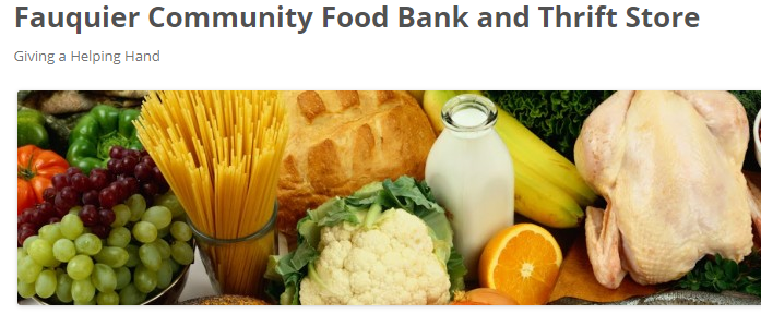 Fauquier Community Food Bank & Thrift Store